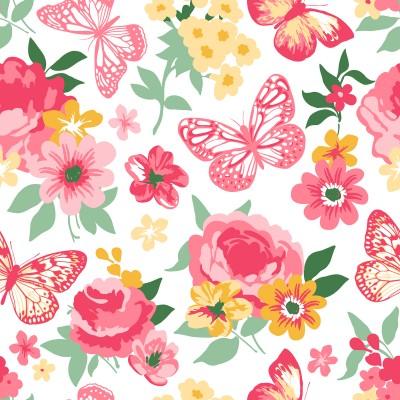 Ταπετσαρία Φύση - Λουλούδια - Floral 121