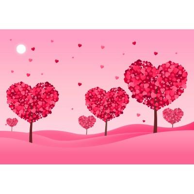 Ρόλερ - Ρολοκουρτίνα Σχέδιο Παιδικό - Εφηβικό25 Καρδιές