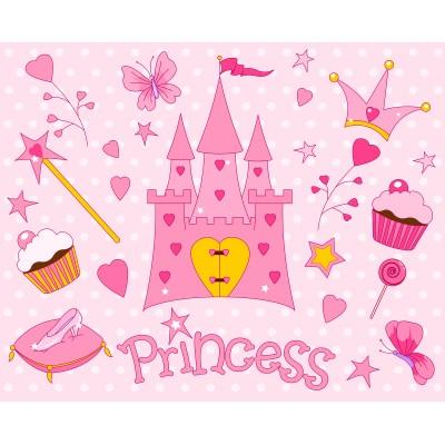 Ταπετσαρία Παιδικό - Εφηβικό 196 Μικρή πριγκίπισσα
