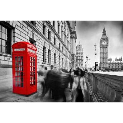 Ταπετσαρία Πόλεις - Αξιοθέατα 122 Αγγλία τηλεφωνικός θάλαμος