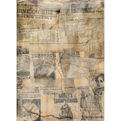 Ταπετσαρία Vintage - Μουσική 10 Παλιά εφημερίδα