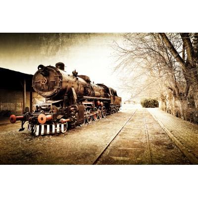 Ταπετσαρία Vintage - Μουσική 11 Τραίνο