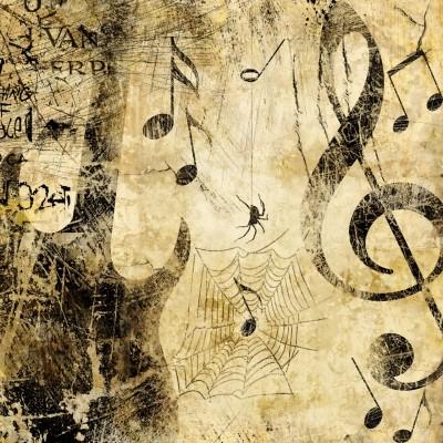 Ταπετσαρία Vintage - Μουσική 19