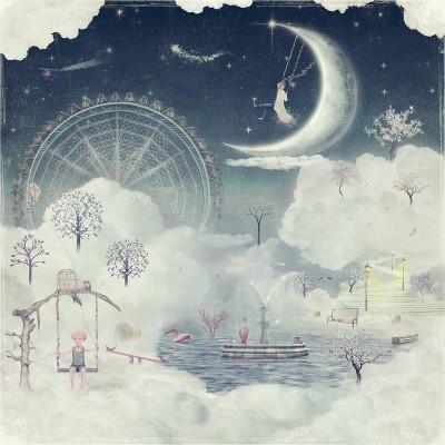 Ρόλερ - Ρολοκουρτίνα Σχέδιο Παιδικό - Εφηβικό 307 Ασημένιο όνειρο