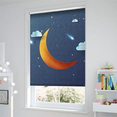 Ρόλερ - Ρολοκουρτίνα Σχέδιο Παιδικό - Εφηβικό 305 Φεγγάρι και αστεράκια