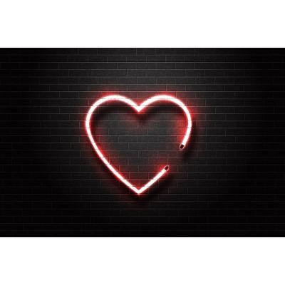 Ρόλερ - Ρολοκουρτίνα Σχέδιο Παιδικό - Εφηβικό 304 Κόκκινη καρδιά