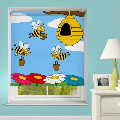 Ρόλερ Ολικής Συσκότισης/Blackout XN0001 Μέλισσες