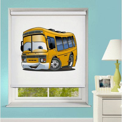 Ρόλερ Ολικής Συσκότισης/Blackout XN0046 Σχολικό Λεωφορείο