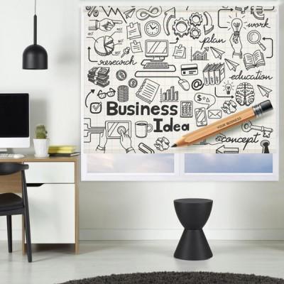 Ρόλερ Μερικής Συσκότισης BU0013 Business-Επιχειρηματικές ιδέες