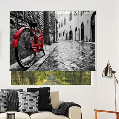 Ρόλερ Μερικής Συσκότισης CI0024 Πόλη-Ιταλία κόκκινο ποδήλατο