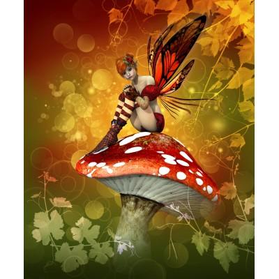 Ρόλερ Μερικής Συσκότισης FA0013 Fantasy-Νεράιδα