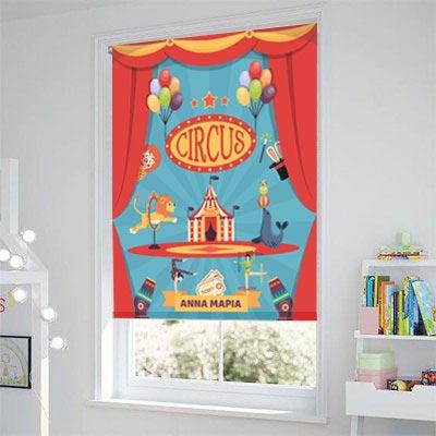 Ρόλερ - Ρολοκουρτίνα Σχέδιο Παιδικό - Εφηβικό 310 Τσίρκο