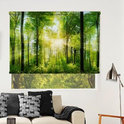 Ρόλερ Ολικής Συσκότισης/Blackout NA0047 Φύση-Δάσος