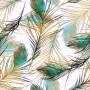 Ρόλερ - Ρολοκουρτίνα Σχέδιο Φύση - Λουλούδια - Floral 169 Πολύχρωμα φτερά