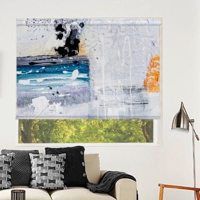Ρόλερ Μερικής Συσκότισης PA0045 Πίνακες ζωγραφικής-Αφηρημένη τέχνη