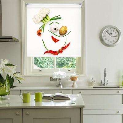 Ρόλερ Ολικής Συσκότισης/Blackout K20 Kitchen-Κουζίνα Μάγειρας Λαχανικά