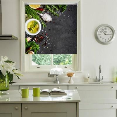 Ρόλερ Ολικής Συσκότισης/Blackout K05 Kitchen-Κουζίνα Μπαχαρικά