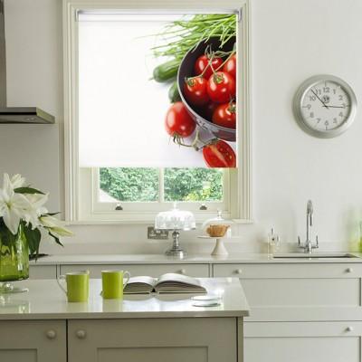 Ρόλερ Ολικής Συσκότισης/Blackout K23 Kitchen-Κουζίνα Ντομάτες