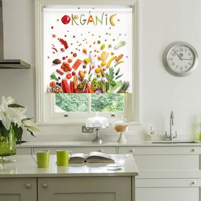 Ρόλερ Μερικής Συσκότισης K14 Kitchen-Κουζίνα Οργανικά Λαχανικά
