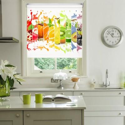 Ρόλερ Ολικής Συσκότισης/Blackout K24 Kitchen-Κουζίνα Χυμός Φρούτα