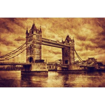 Ταπετσαρία Πόλεις - Αξιοθέατα 184 Γέφυρα Λονδίνου vintage